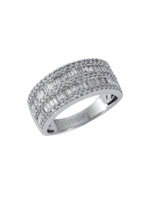 14 Kt White Gold and...