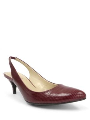 Tina Slingback Pumps by Ellen Tracy