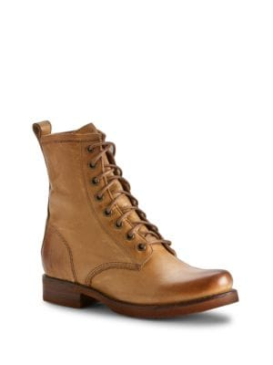 Veronica Combat Boots by Frye