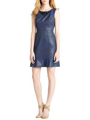 Glazed Jacquard Dress by Suzi Chin