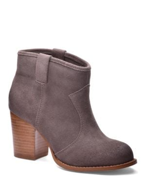 Lakota Suede Ankle Slip-On Boots by Splendid