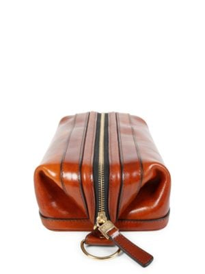 Leather Toiletry Kit by Bosca