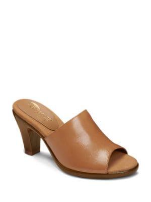 Brilliance Leather Slides by Aerosoles
