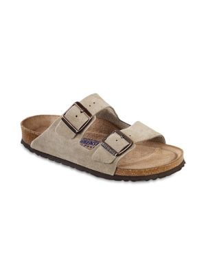Arizona Suede Double-Strap Sandals by Birkenstock