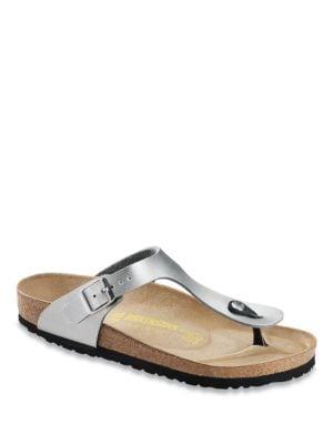 Gizeh Birko-Flor T-Strap Sandals by Birkenstock