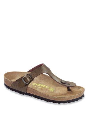 Gizeh Birko-Flor T-Strap Sandals 500072131667