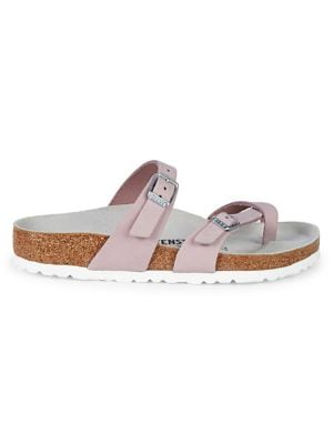 Mayari Birko-flor Cross-Strap Sandals by Birkenstock