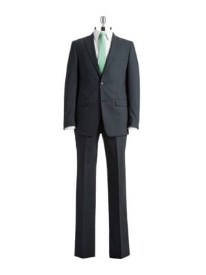 Two Piece Flat Front Suit by Michael Kors