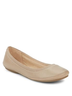 Leather Ballet Flats by Bandolino