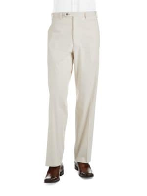 Striped Slim Fit Pants by Black Brown