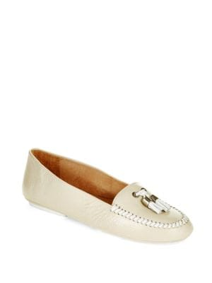 Terra Contrasting Leather Moccasins by Jack Rogers