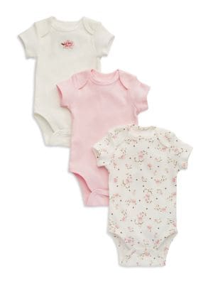 Three Pack Bodysuit Set