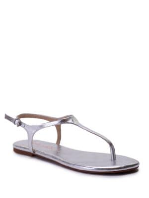 Mason Leather Thong Sandals by Splendid