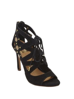 Safia Suede Strappy Sandals by Dolce Vita