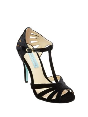 Tee Open Toe T-Strap Sandals by Betsey Johnson