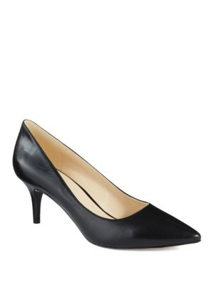 Margot Leather Pumps by Nine West
