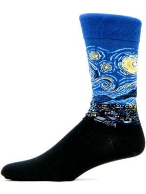 Starry Night Knit Socks by Hot Sox