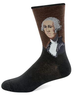 George Washington Knit Socks by Hot Sox