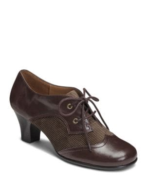 Aristocrat High Heel Oxfords by Aerosoles
