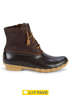 Saltwater Leather Boots by Sperry