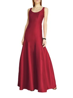 Faille Tulip Gown by Halston Heritage