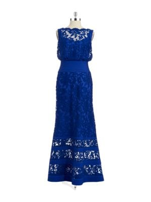 Lace Accented Gown by Tadashi Shoji