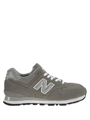 Buy W574 Classic Round Toe Lace-Up Sneakers by New Balance online