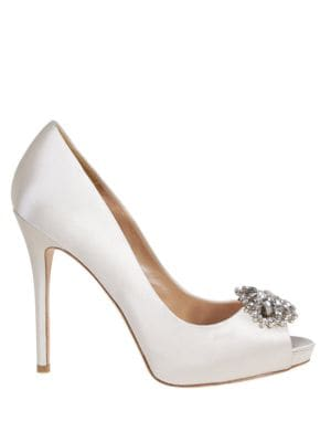 Jeannie Embellished Pumps by Badgley Mischka