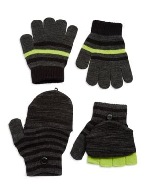 Two Pack Knit Gloves