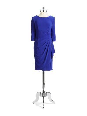 Embellished Sheath Dress by Alex Evenings