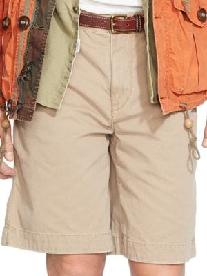 Relaxed-Fit Twill Surplus Shorts by Polo Ralph Lauren