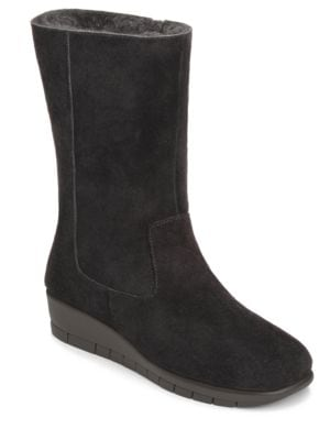 Plantation Suede Mid Shaft Boots by Aerosoles