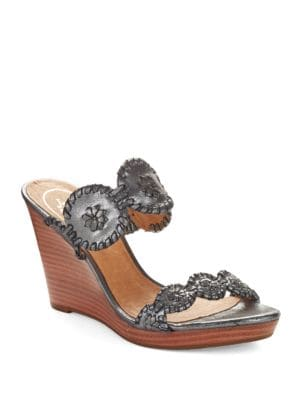 Luccia Stardust Platform Wedge Sandals by Jack Rogers