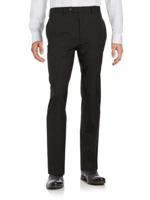 Striped Flat Front Pants by William Rast