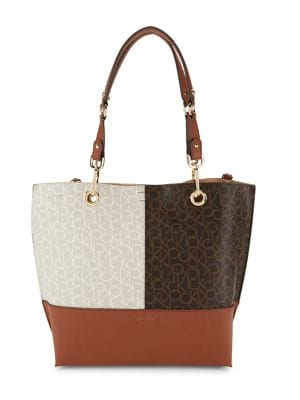 Reversible Faux Leather Tote 500078605201