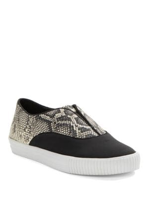 Vineyard Leather Slip-On Sneakers by Elie Tahari