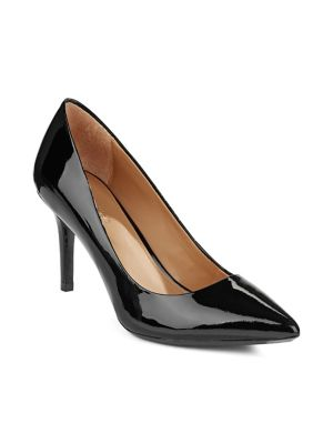 Gayle Patent Pumps by Calvin Klein