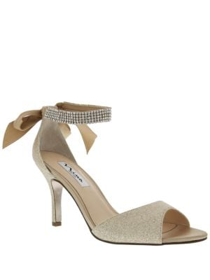 Vinnie Ankle Strap Pumps by Nina