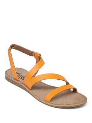 Fastt Leather Open-Toe Sandals by Lucky Brand