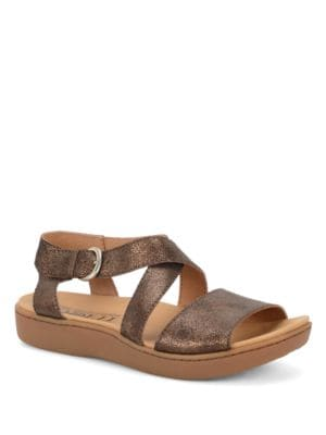 Anyssa Suede Sandals by Born