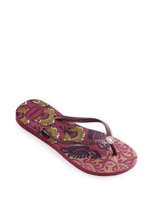 Slim Royal Rubber Thong Sandals 500080885494