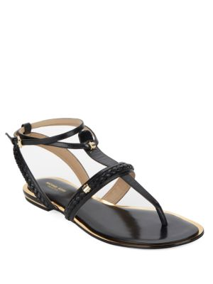 Halden T-Strap Sandals by Michael Kors Collection