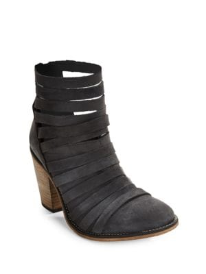Hybrid Strappy Ankle Boots by Free People