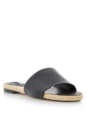 Latted Leather Sandals by Dune London