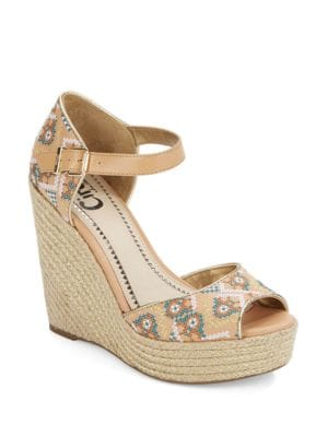 Sutton Espadrille Platform Wedge Sandals by Circus by Sam Edelman