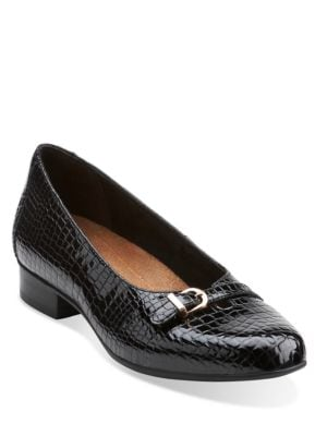 Keesha Raine Patent Leather Loafers by Clarks