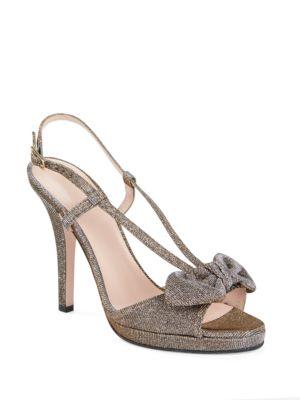 Rezza Metallic Platform Sandals by Kate Spade New York