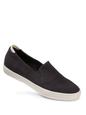 Canvas Slip-On Sneakers by Adam Tucker