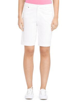 Stretch Cotton Golf Shorts 500082521477