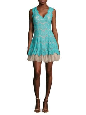 Lace Fit-&-Flare Dress by Betsy & Adam